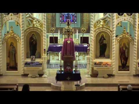 Divine Liturgy – March 19, 2017 (3rd Sunday of Great Lent)