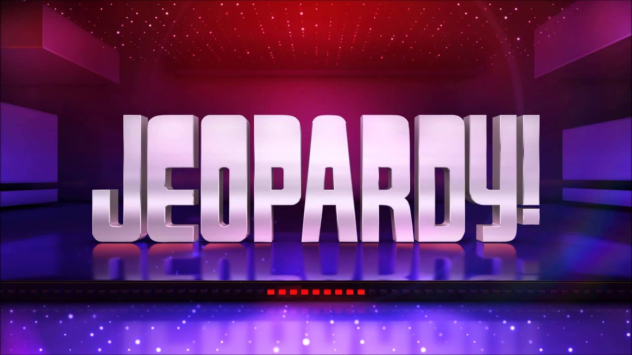 jeopardy! theme (2008 version) - youtube, Powerpoint templates