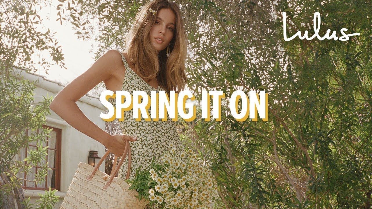 [VIDEO] - Spring It On | Spring 2019 with Lulus 1