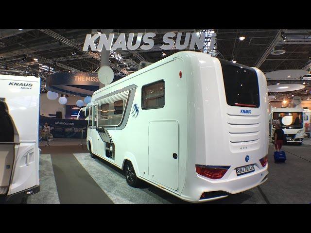 2017 Nyhed: Knaus Sun i Autocamper!