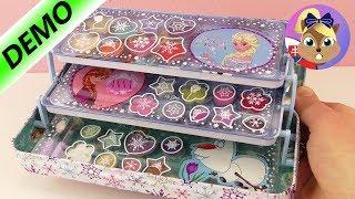 Kufrík s maľovátkami pre deti | Detské maľovátka | Elsa a Anna | Frozen hračky | Ľadové kráľovstvo