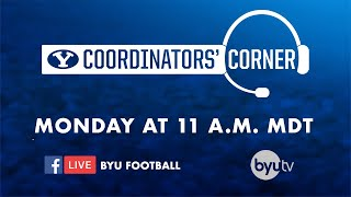BYU Football - Coordinators' Corner - September 16, 2019