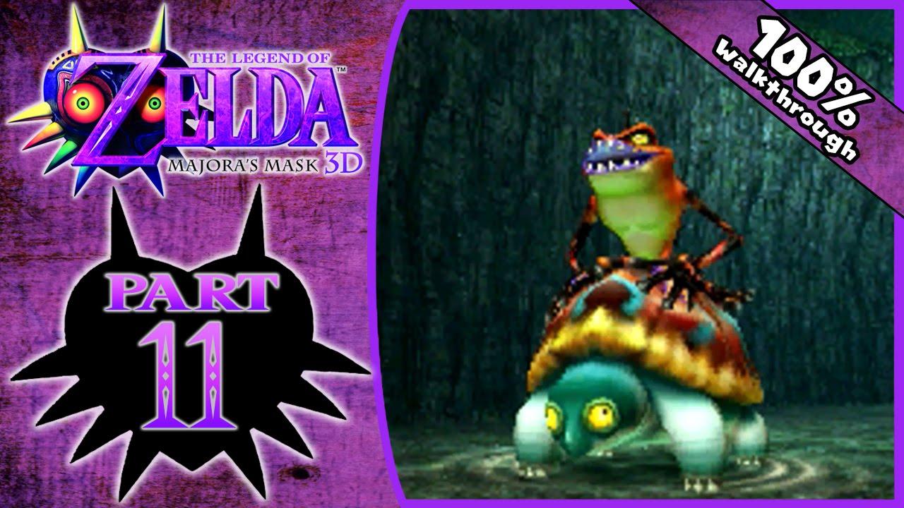 9343fa2d3 The Legend of Zelda: Majora's Mask 3D - Part 11   Woodfall Temple  Exploration! [100% Walkthrough]