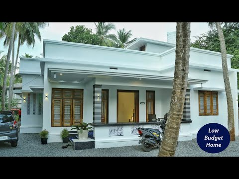 Eye catching budget single story home for 15 lakh | Video tour