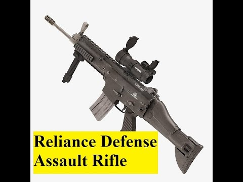 Reliance Defense and Engineering Ltd manufacture assault rifles