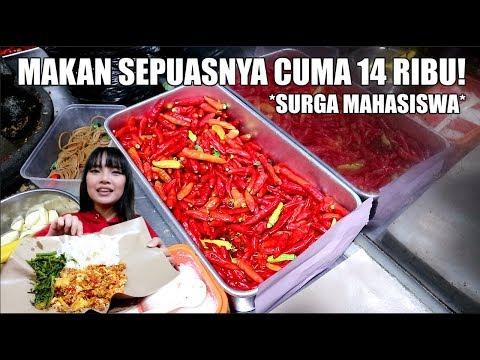 SEPUASNYA CUMA 14 RIBU! *Kuliner Murah Meriah Pake Banget*