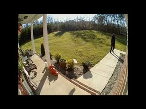 Delivery Caught on Camera! Home Security Camera Catches FedEx Deliveryman  Throwing Package on Porch - Delivery Caught On Camera! Home Security Camera Catches FedEx