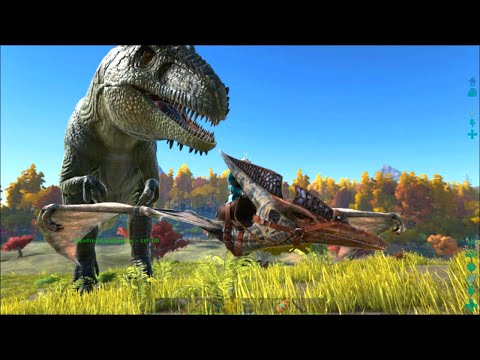 ARK Survival Evolved #25: Giganotosaurus Taming