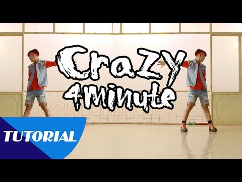 Tutorial Mirror | Dạy nhảy 4MINUTE - 미쳐 Crazy | Panoma Dance Crew