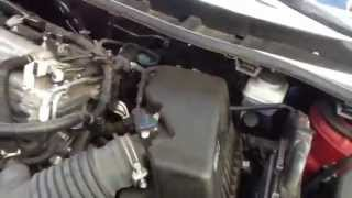 Air filter replace Toyota Corolla 2010
