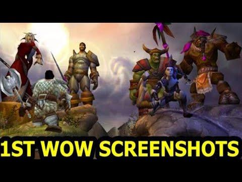 how to open a screenshot world of warcraft vanilla