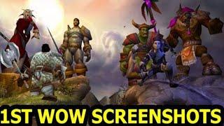 First Alpha/Beta & Vanilla World of Warcraft Screenshots Ever  | 1990s Vanilla WoW Screenshots
