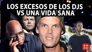 LOS EXCESOS DE LOS DJS VS UNA VIDA SANA | #TioEMPO