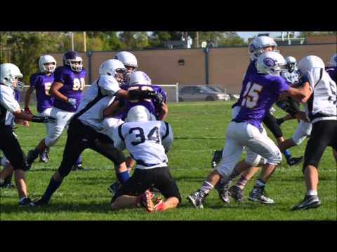 Ellicott Middle School Football 2015