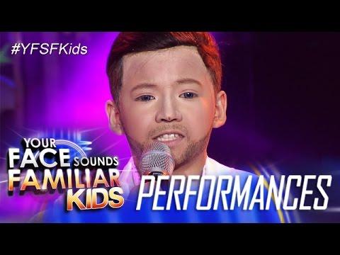 Your Face Sounds Familiar Kids: Justin Alva as...