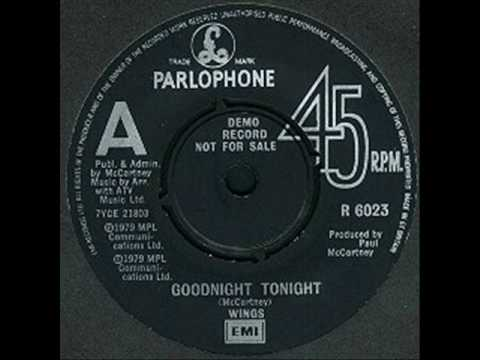 Paul McCartney - McCartney II: Goodnight Tonight