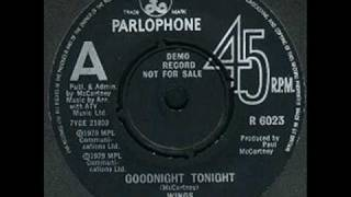 Paul McCartney - McCartney II: Goodnight Tonight