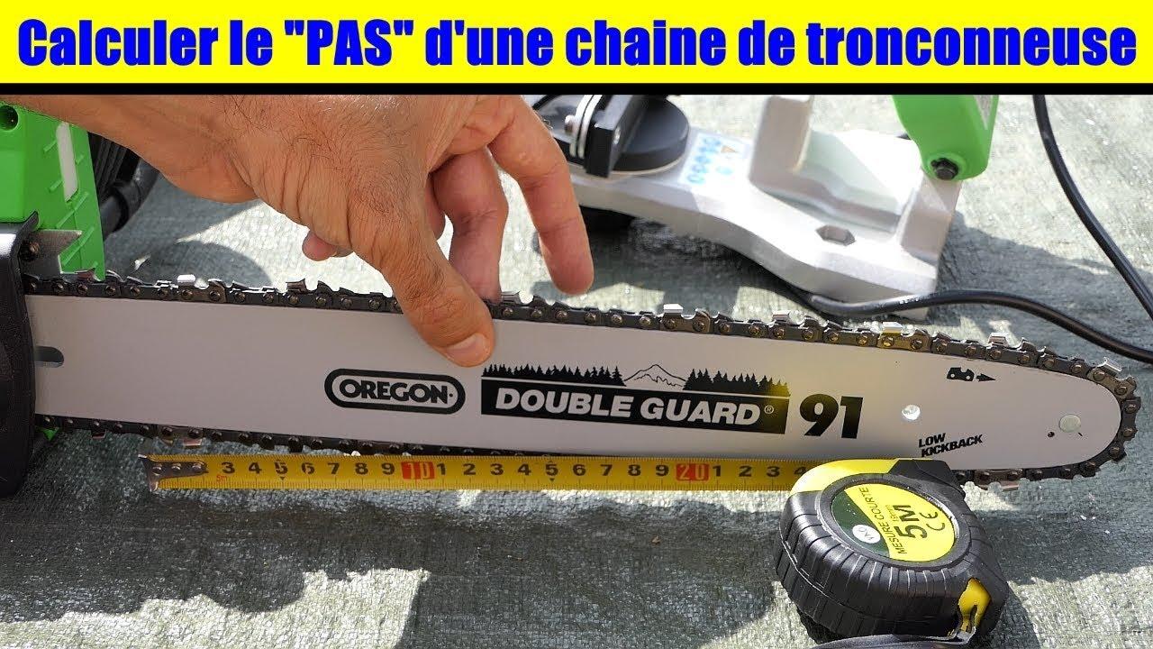Connaitre les pas d 39 une chaine de tronconneuse taille de maillons compatible avec affuteuse - Comment aiguiser une chaine de tronconneuse ...