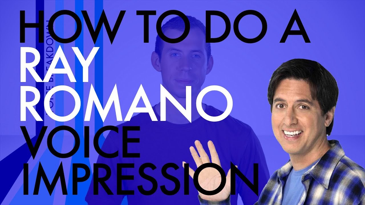 """Download """"How To Do A Ray Romano Voice Impression"""" - Voice Breakdown Ep. 8"""
