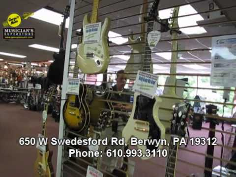 George's Music Berwyn, PA Store Tour