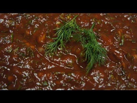 как приготовить армянский соус для шашлыка видео