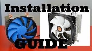 am4 ryzen thermaltake contact 12 deepcool gammaxx cpu cooler install guide