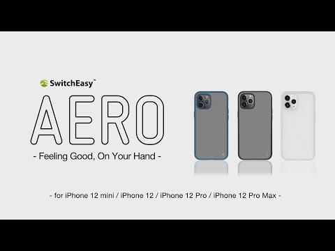 AERO – Nano Coating & Dirt-Resistance Slim Fit case for iPhone 12 & 12 Pro | SwitchEasy