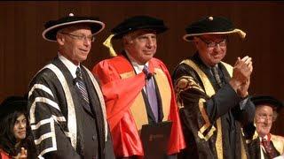 Ratan Tata honorary degree and Wallace Wurth Dialogue.