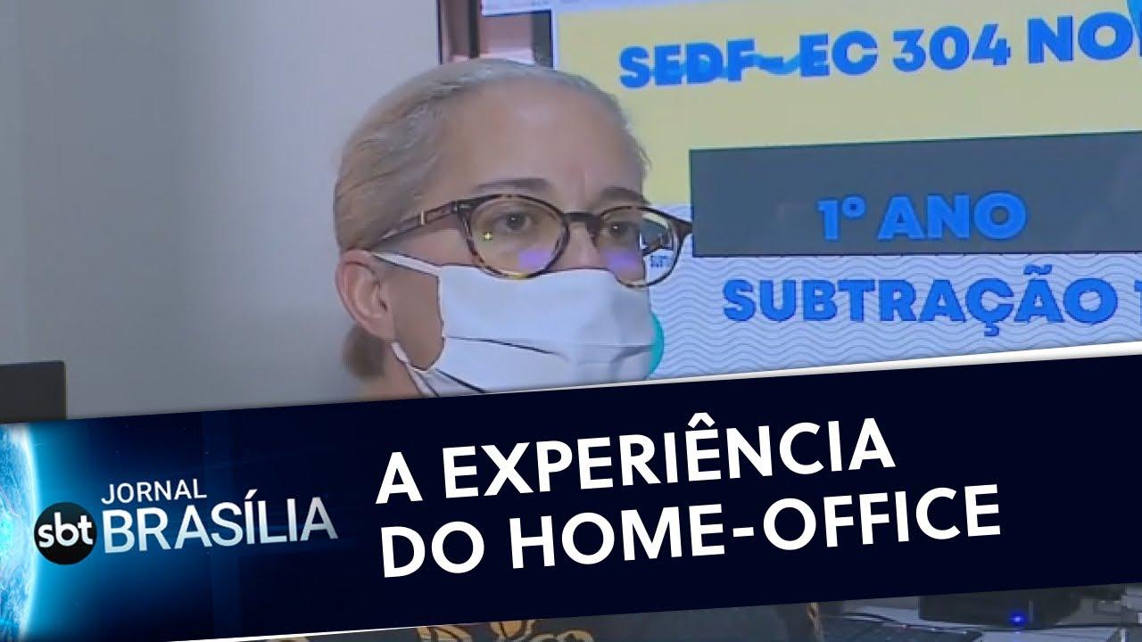 Servidores públicos têm preferência pelo trabalho remoto | Jornal SBT Brasília 28/09/2020