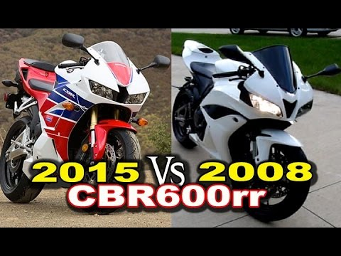2015 Vs 2008 Honda Cbr600rr Review