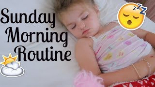SUNDAY MORNING ROUTINE | FAMILY MORNING ROUTINE | Tara Henderson