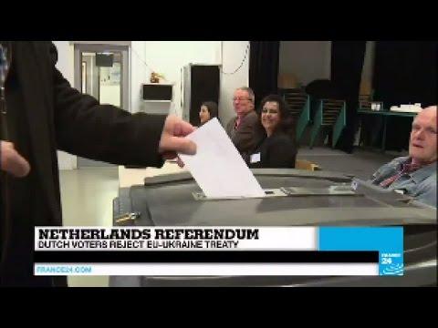 Netherlands referendum: Dutch voters reject EU-Ukraine treaty