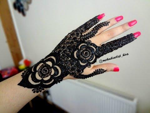 Latest trendy  Beautiful stylish arabic/gulf bridal heavy henna mehndi designs for hands for eid