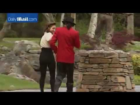 Michael Jackson and Lisa Marie Presley at the Neverland Ranch, 1995