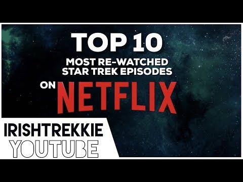 TOP 10 most rewatched  STAR TREK episodes on NETFLIX