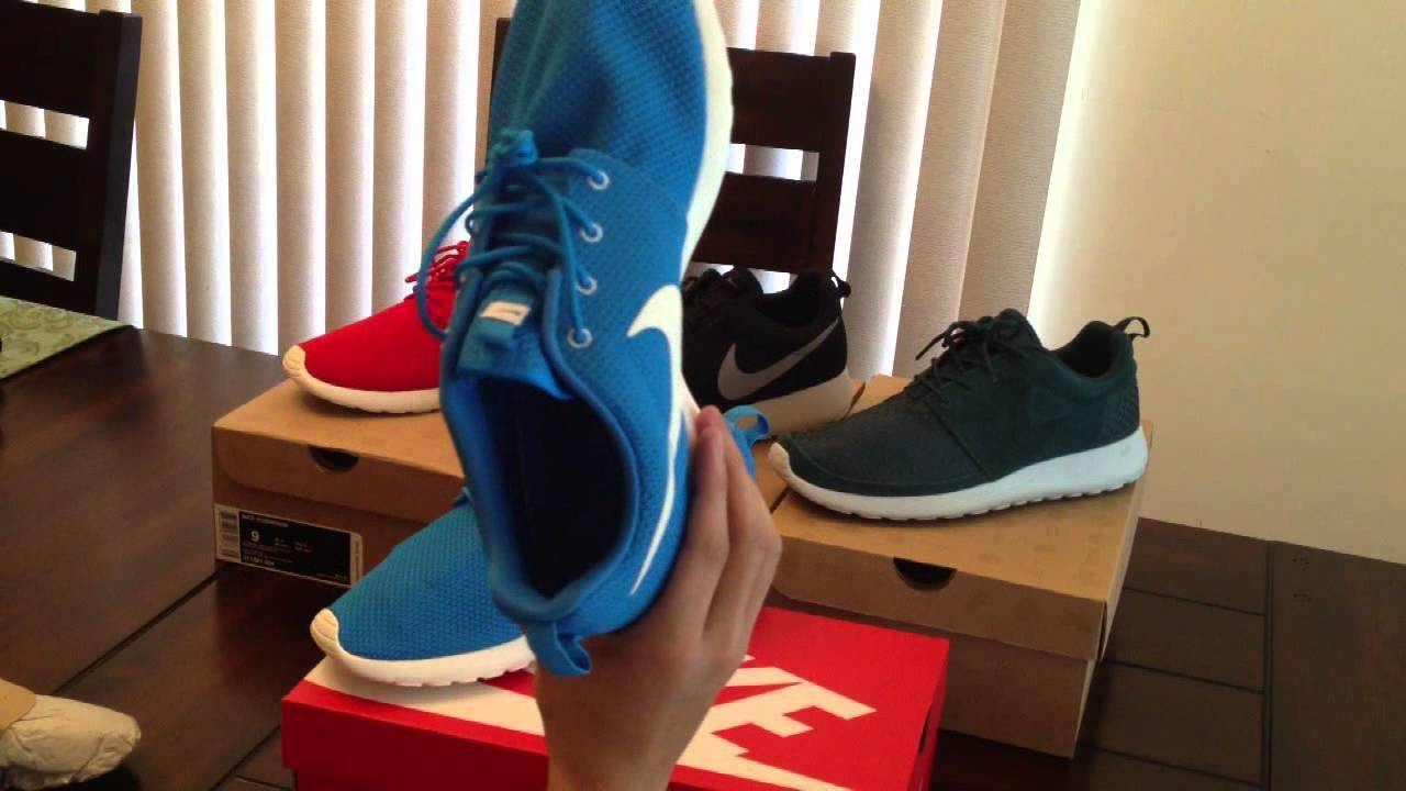 Nike Roshe Run Blue Hero