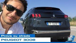 Prova su strada Peugeot 3008 - test drive
