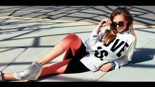 Модный спортивный стиль одежды: новинки, фото