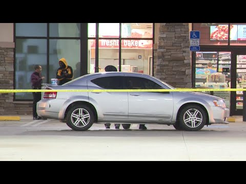 Car riddled with bullets arrives at Pompano Beach RaceTrac - YouTube