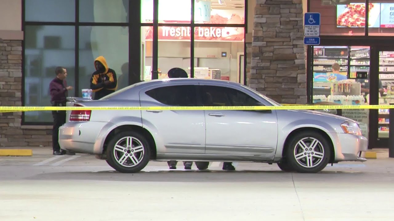 Car riddled with bullets arrives at Pompano Beach RaceTrac