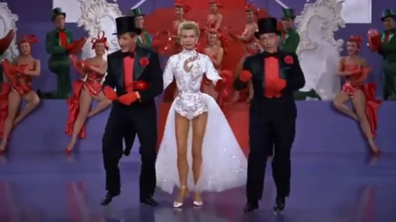 White Christmas Minstrel Show.White Christmas Bing Crosby Tap Dancing With Danny Kaye
