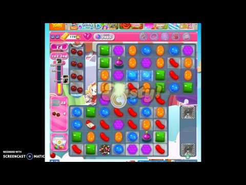 Candy Crush Level 2465 help w/audio tips, hints, tricks