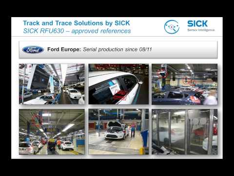 SICK webinar: Innovative car body identification based on RFID technology