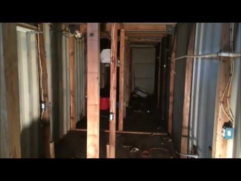 We discovered a secret underground marijuana grow room under our chicken coop!!