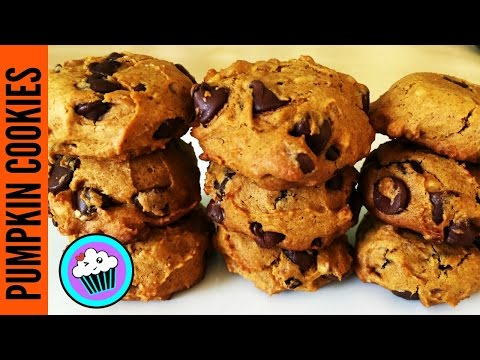 How To Make Pumpkin Chocolate Chip Cookies | #25DaysofCookies