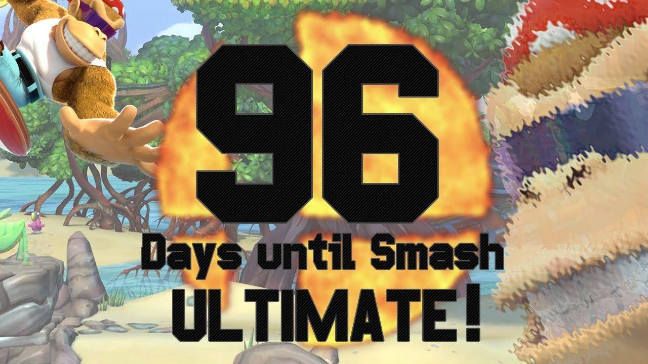 96 Days Until Smash Ultimate Funky For Smash