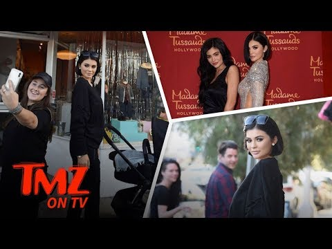 Kylie Jenner Wax Figure Fools Fans!   TMZ TV