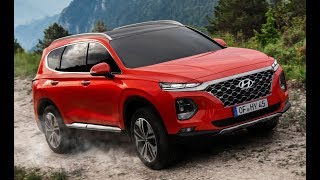 2019 Hyundai Santa Fe On & Off-Road driving Interior Exterior