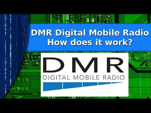 Ham Radio  - DMR radio discussion  How it works