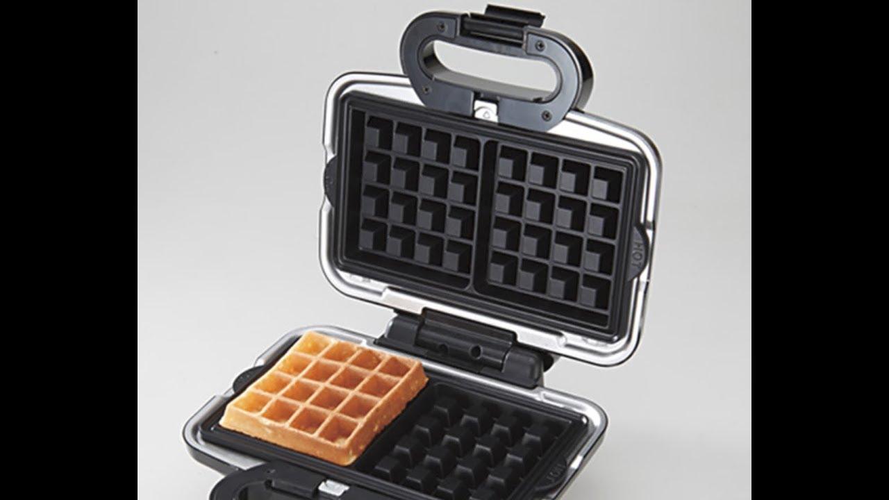 Vitantonio waffle 機介紹 - YouTube